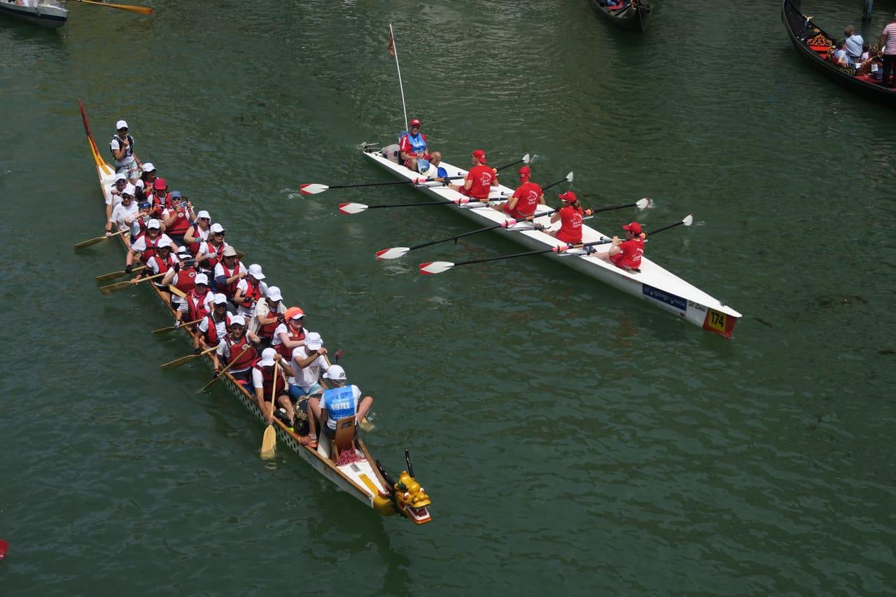 Dragon Boat depuis le Rialto